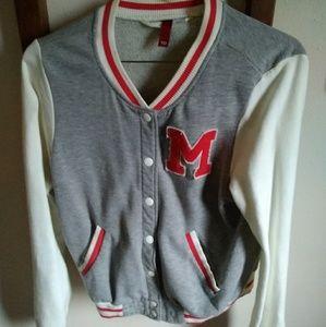 H&M Letter Jacket.